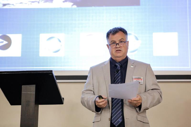 Keith Cain - SAINT President  : Welcome address