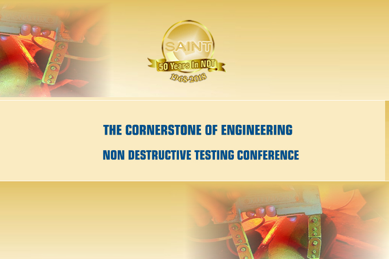 NDT – THE CORNERSTONE OF ENGINEERING CONFERENCE & EXHIBITION